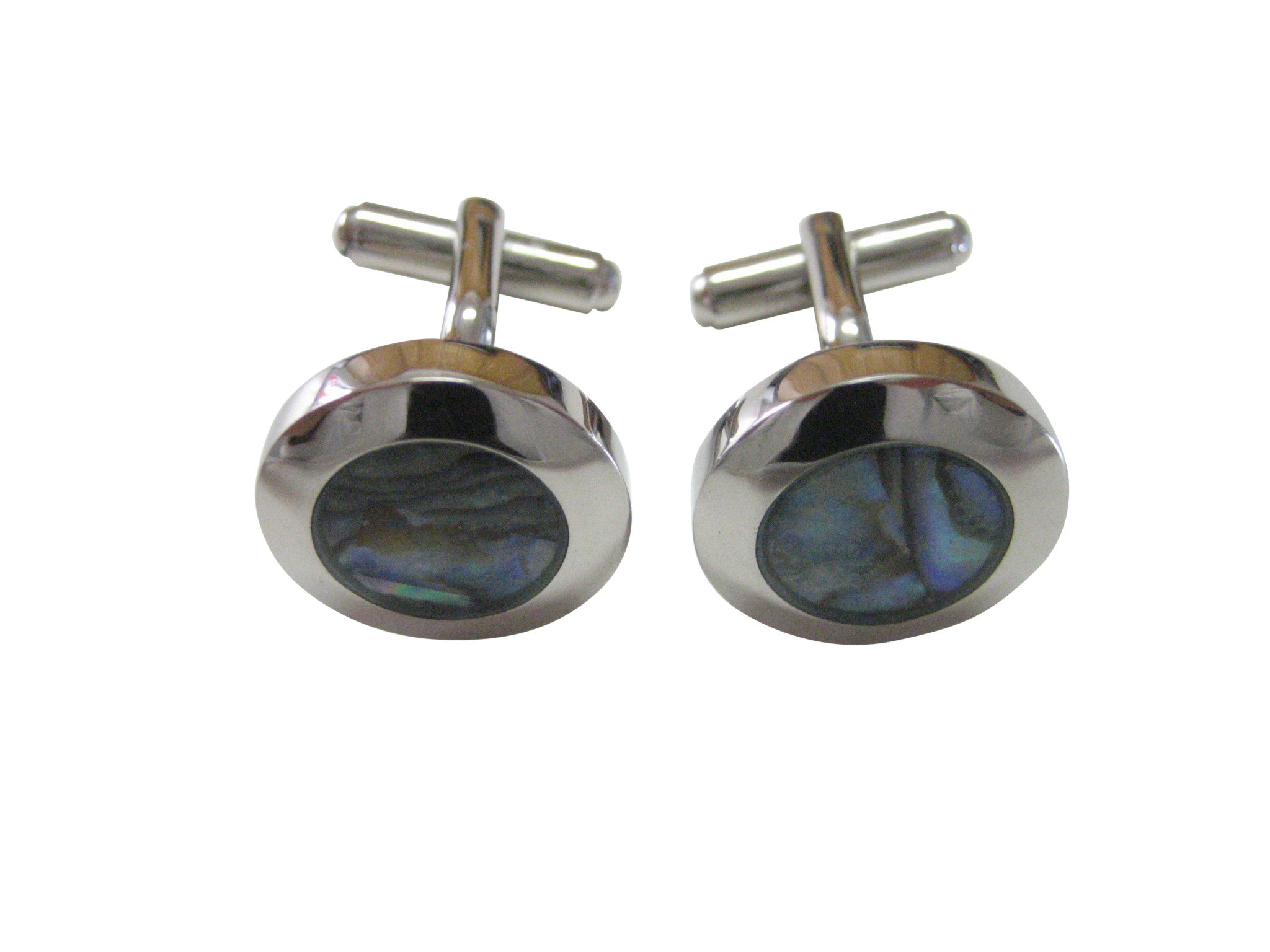 Round Shell Design Cufflinks