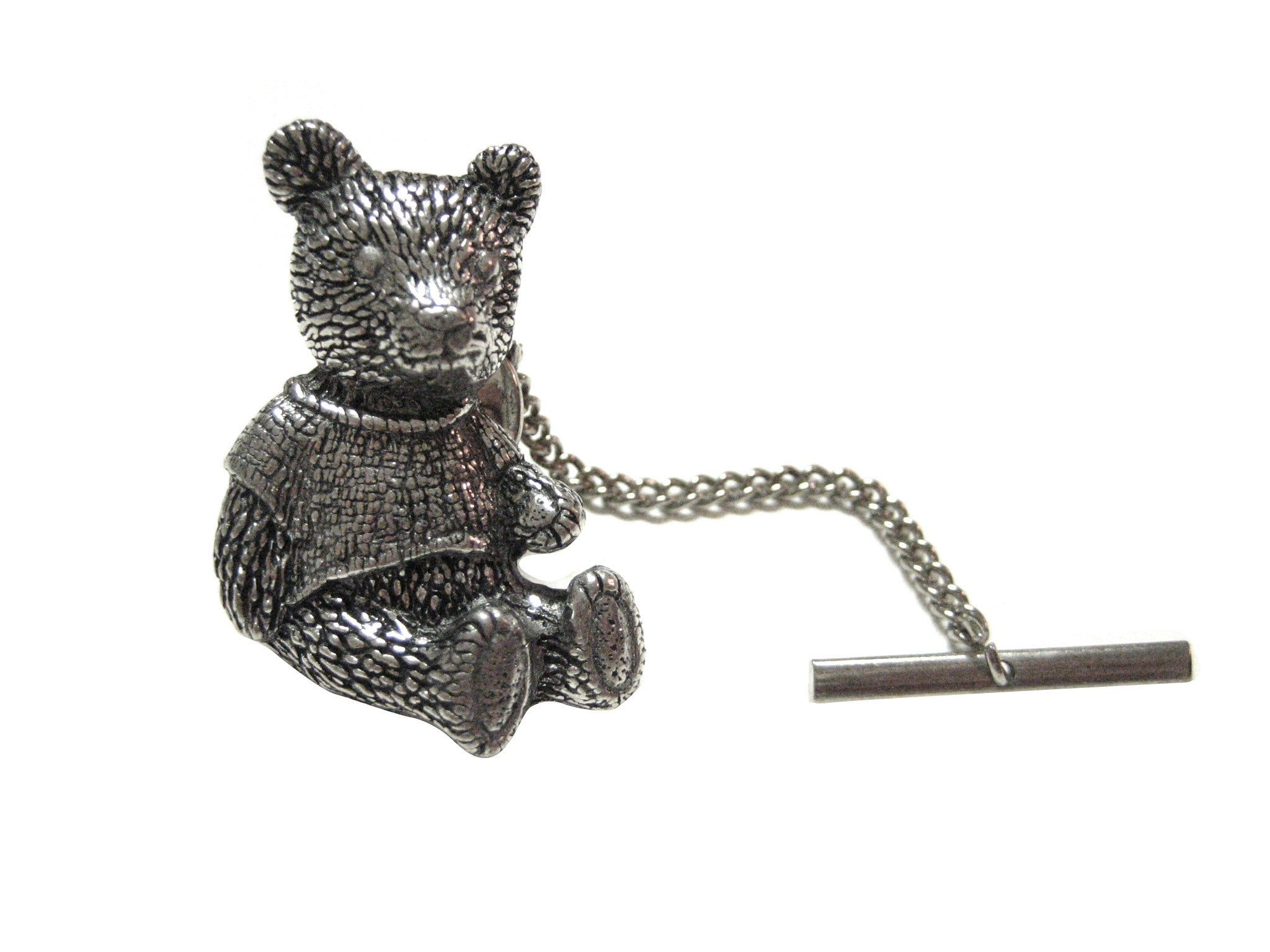 Large Teddy Bear Tie Tack