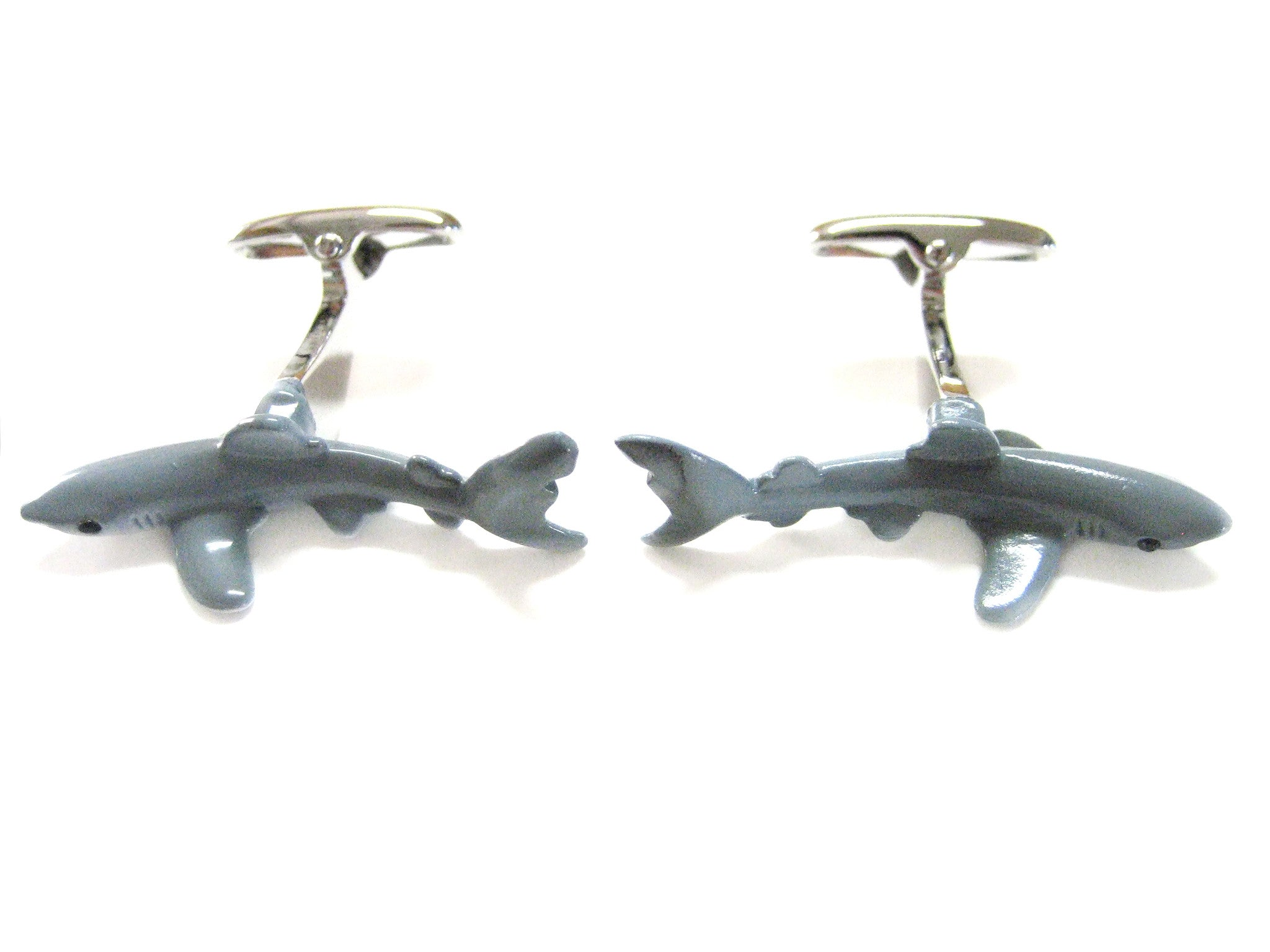 The Sleek Shark Cufflinks
