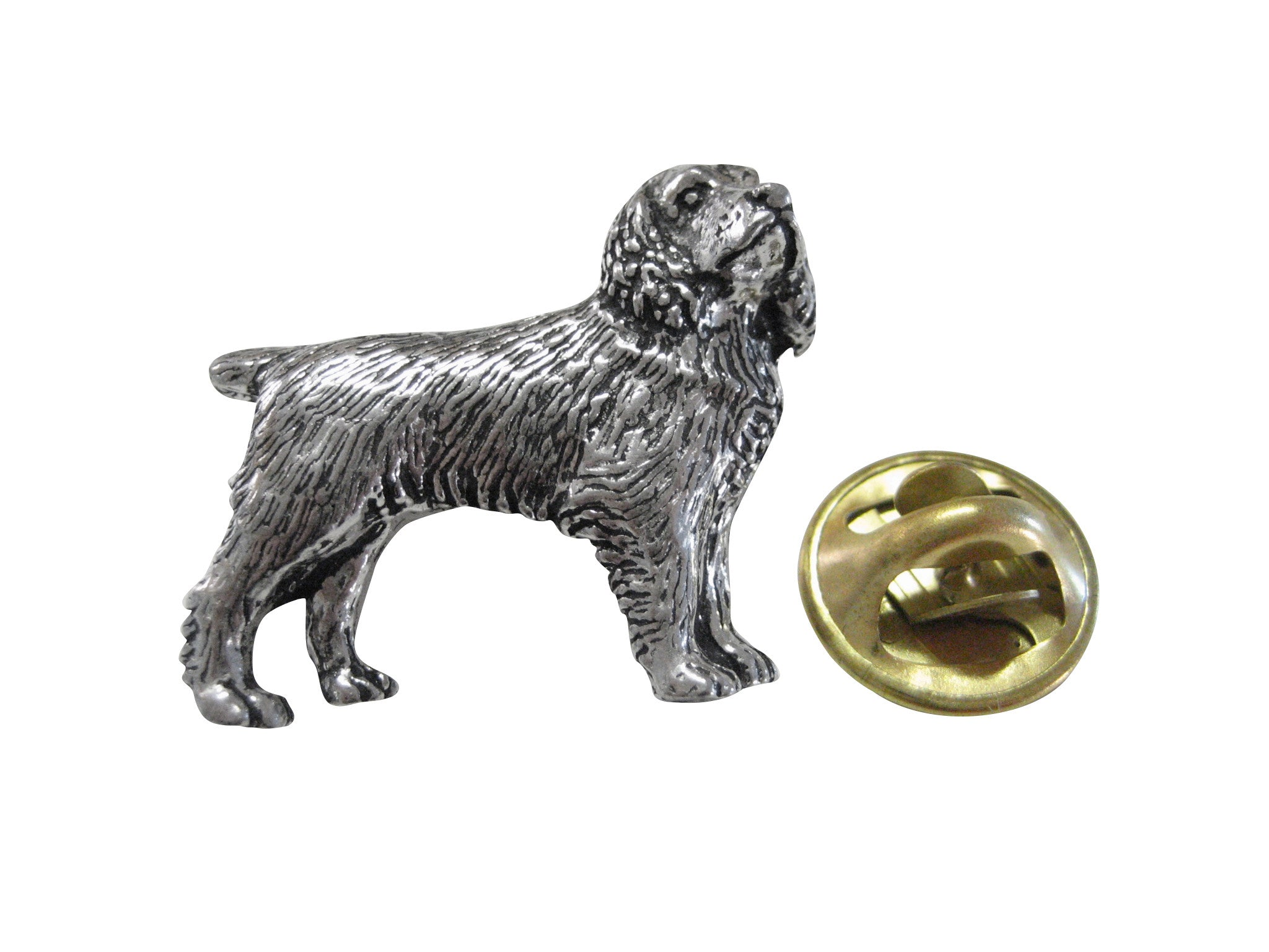 Spaniel Full Dog Lapel Pin