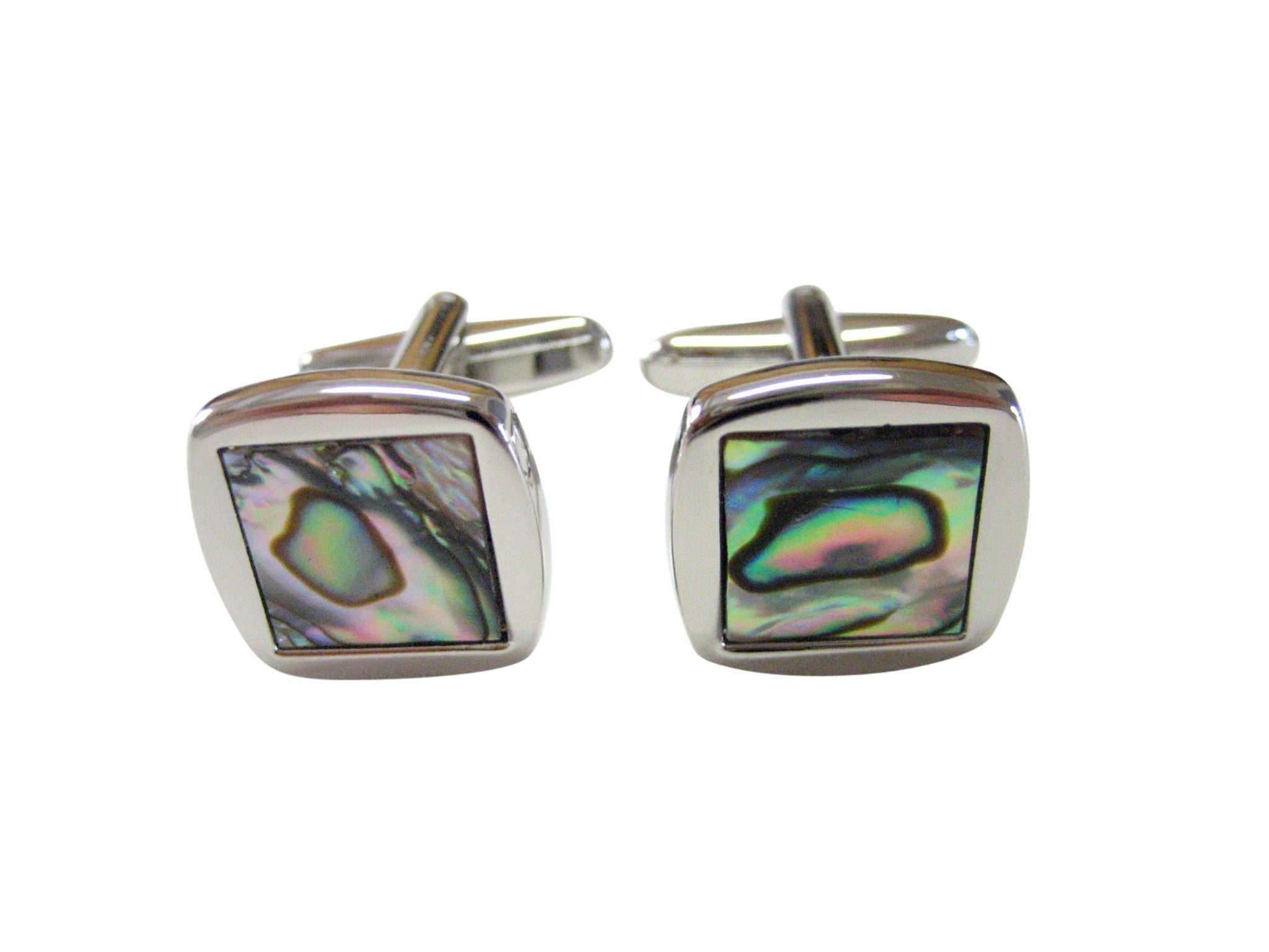 Square Shell Design Cufflinks
