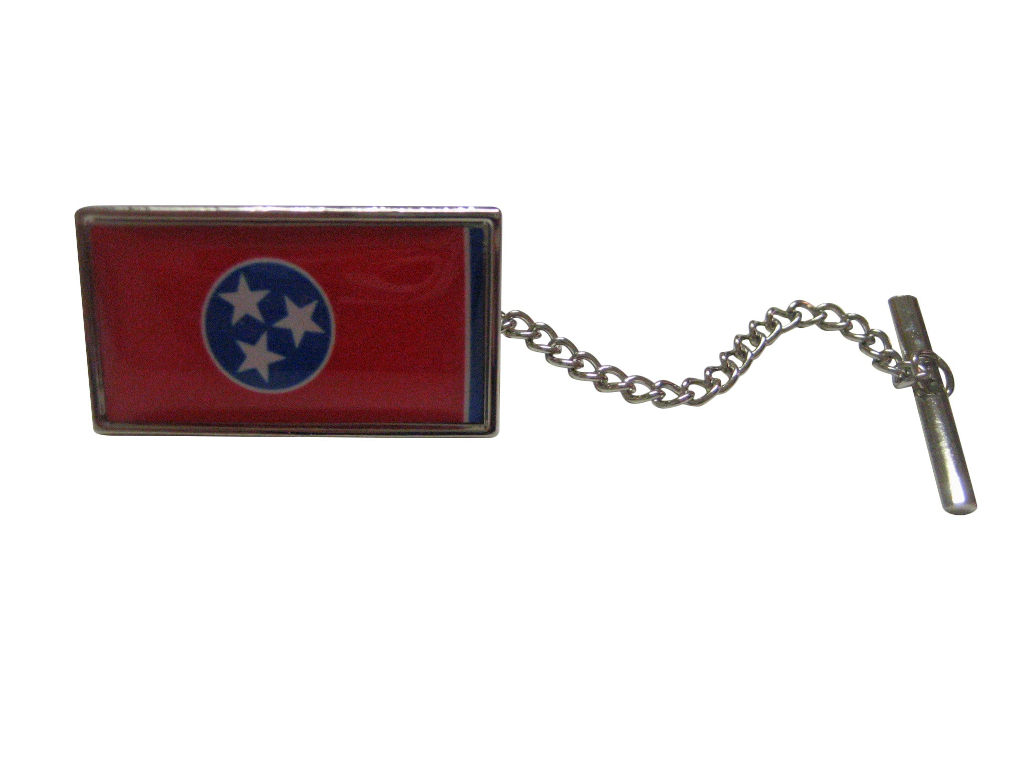 Tennessee Flag Design Tie Tack