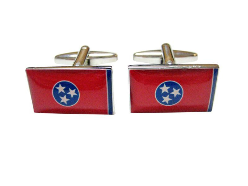 Tennessee State Flag Cufflinks