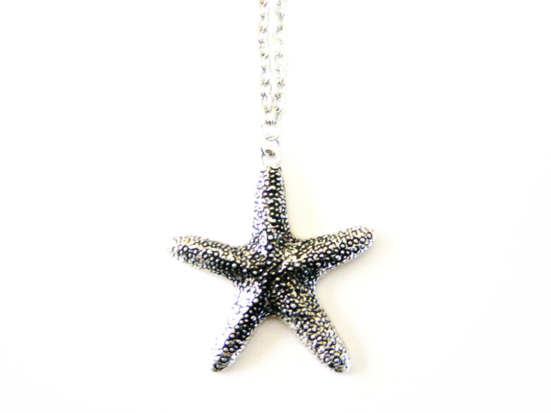 Textured Starfish Necklace