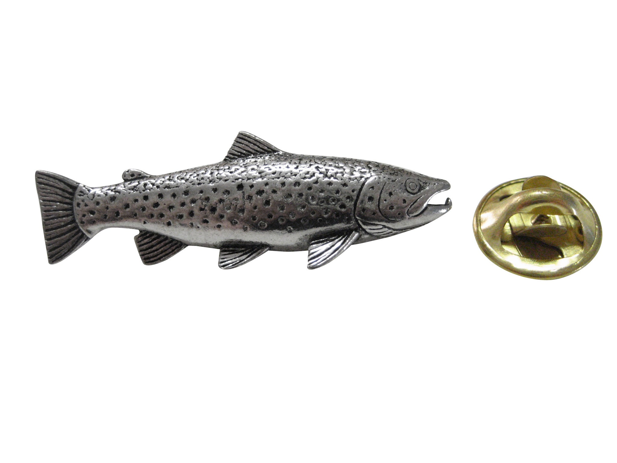 Trout Fish Lapel Pin