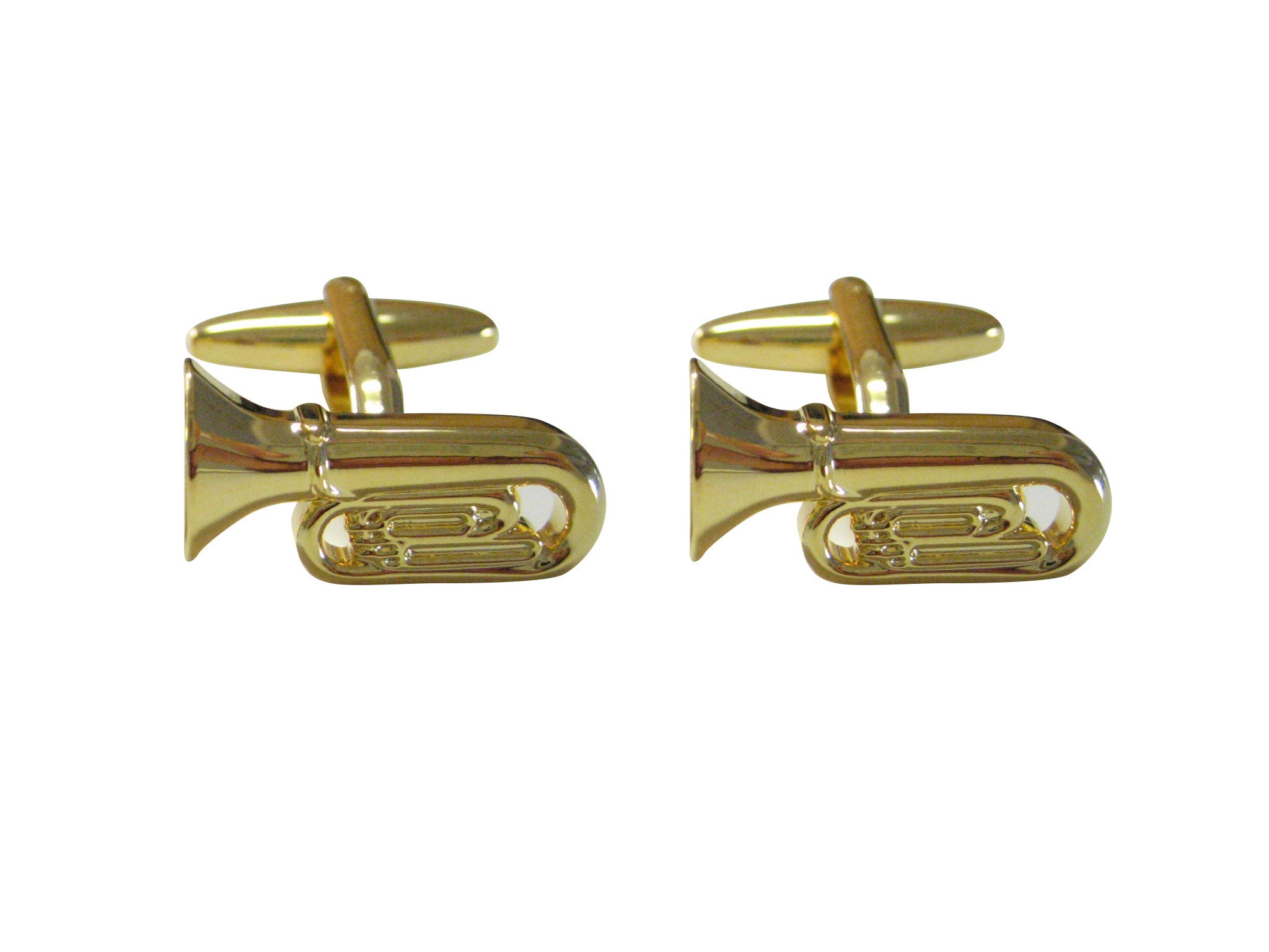 Tuba Musical Instrument Cufflinks