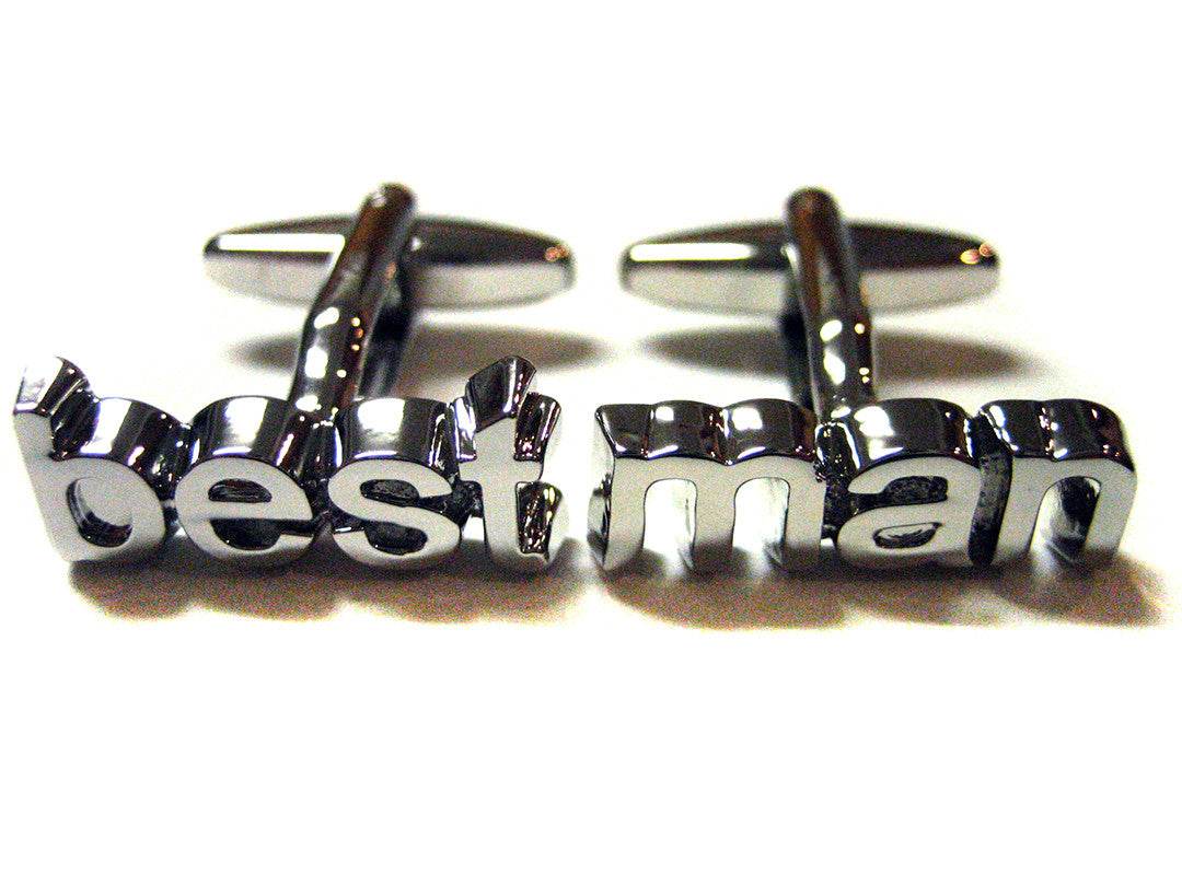 Wedding Best Man Cufflinks