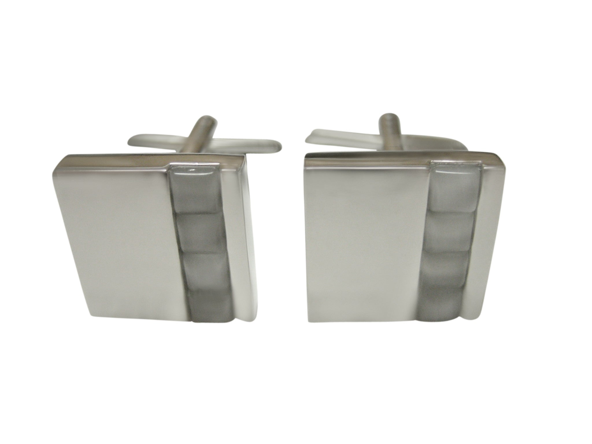 White Square Design Cufflinks