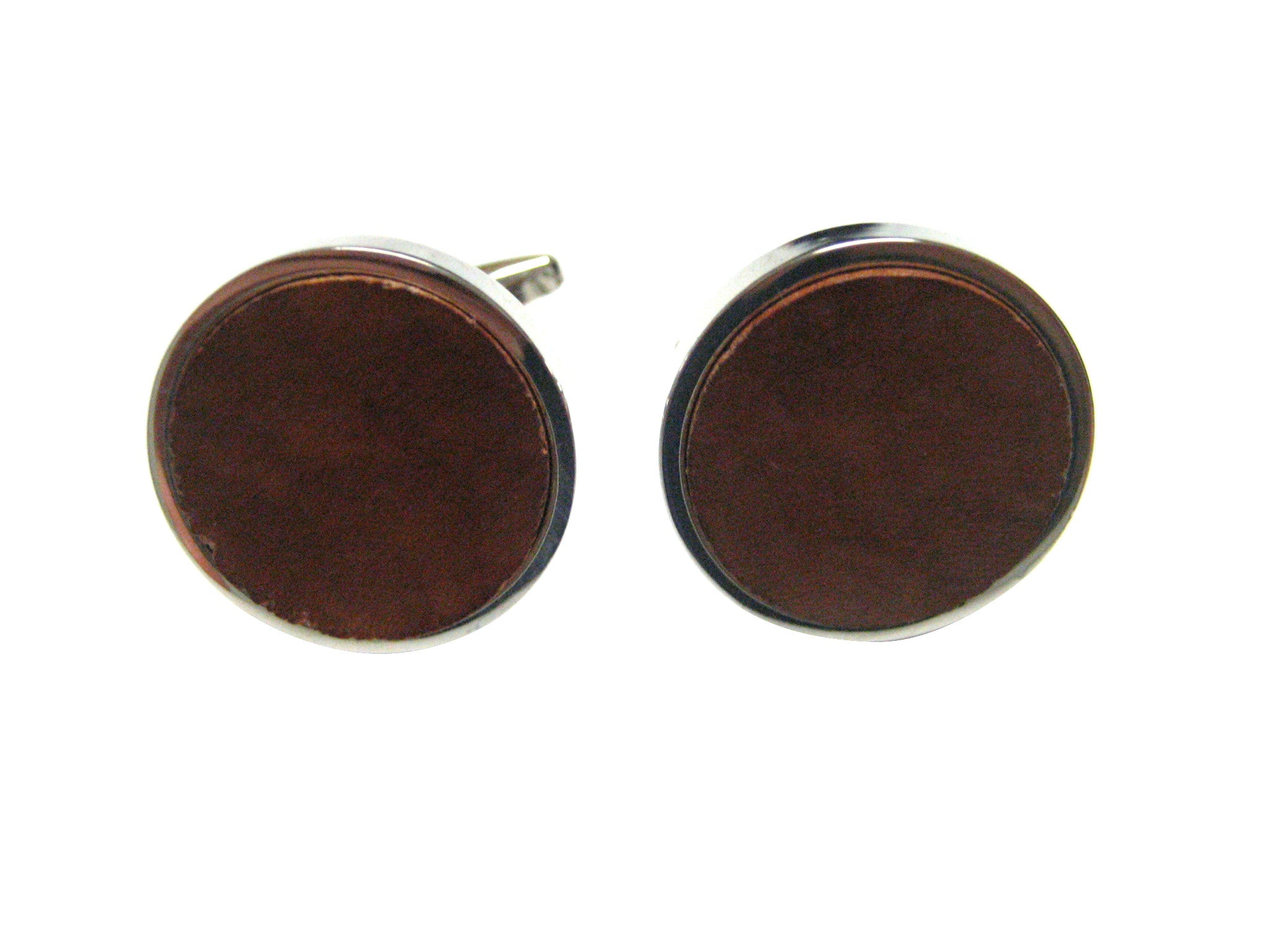Wood Pendant Cufflinks