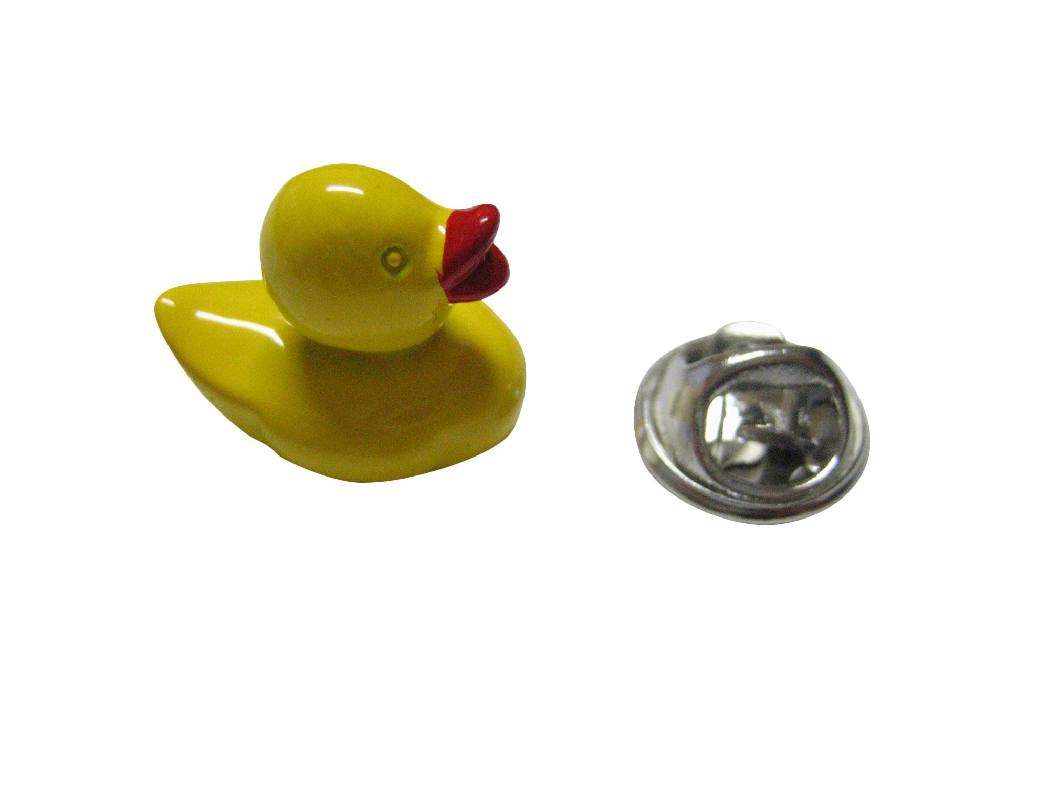 Yellow Rubber Ducky Lapel Pin