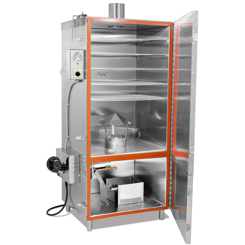 100 Lb Electric Stainless Steel Smokehouse