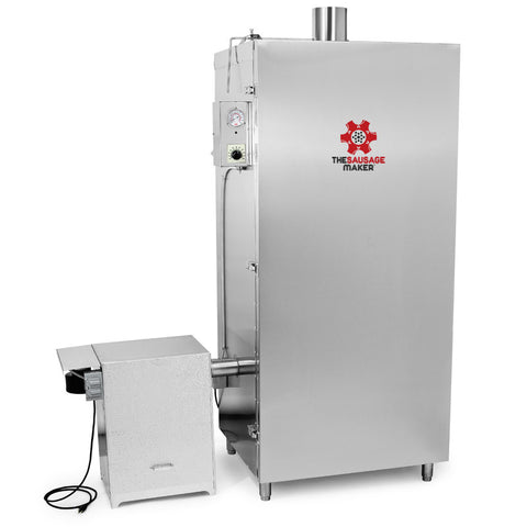 100 Lb Gas Stainless Steel Smokehouse