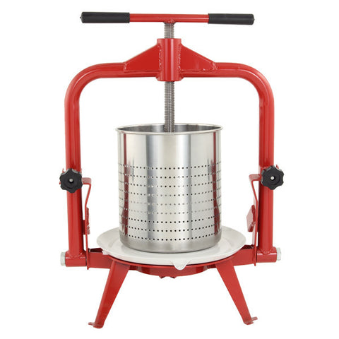 14 Liter Stainless Steel Fruit Press