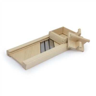 Wooden Cabbage Shredder, Compact