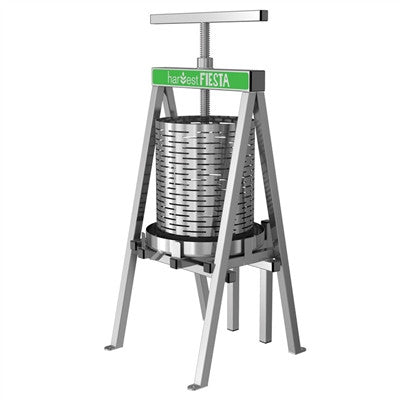 15 Liter Harvest Fiesta Stainless Steel Fruit Press