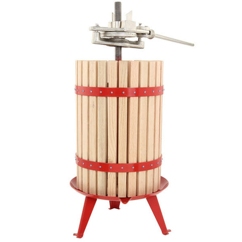 30 Liter Fruit Press with Ratchet Handle