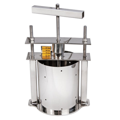 Stainless Steel Cheese Press, Small
