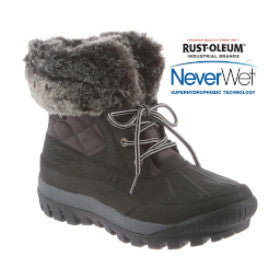 BEARPAW Women's Becka Winter Ankle Boot
