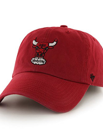 47 BRAND BULLS CLEAN UP STRAPBACK
