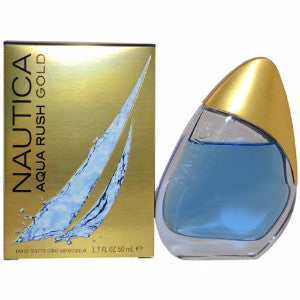 Nautica Aqua Rush by Nautica, 3.4 oz Eau De Toilette Spray for Men