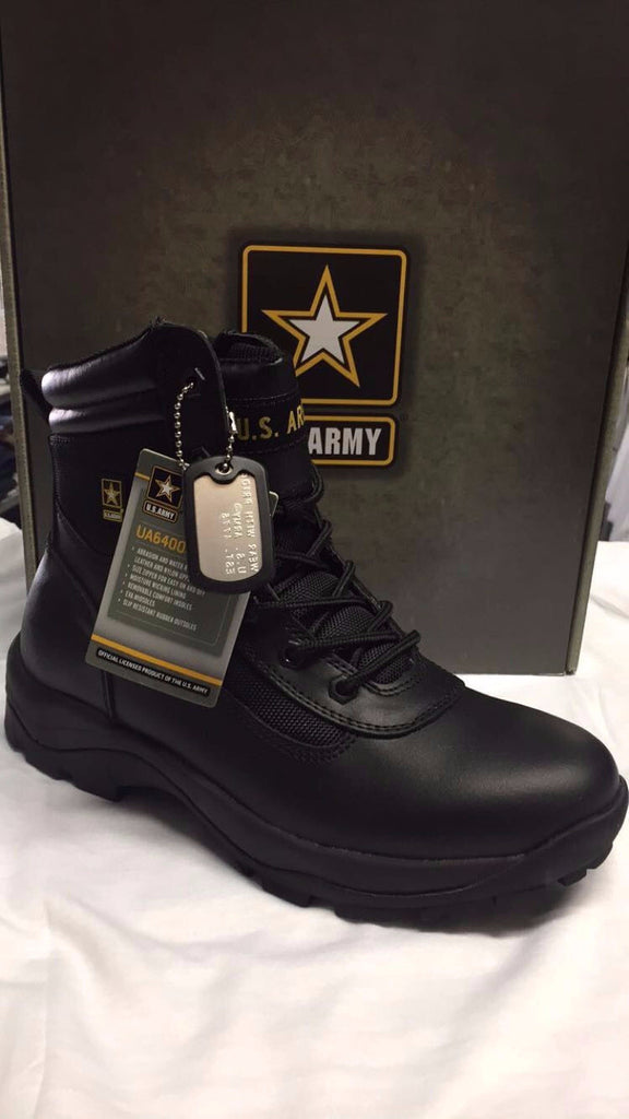 U.S. Army Men's Duty Infiltrate Combat Boot #UA640002 Black