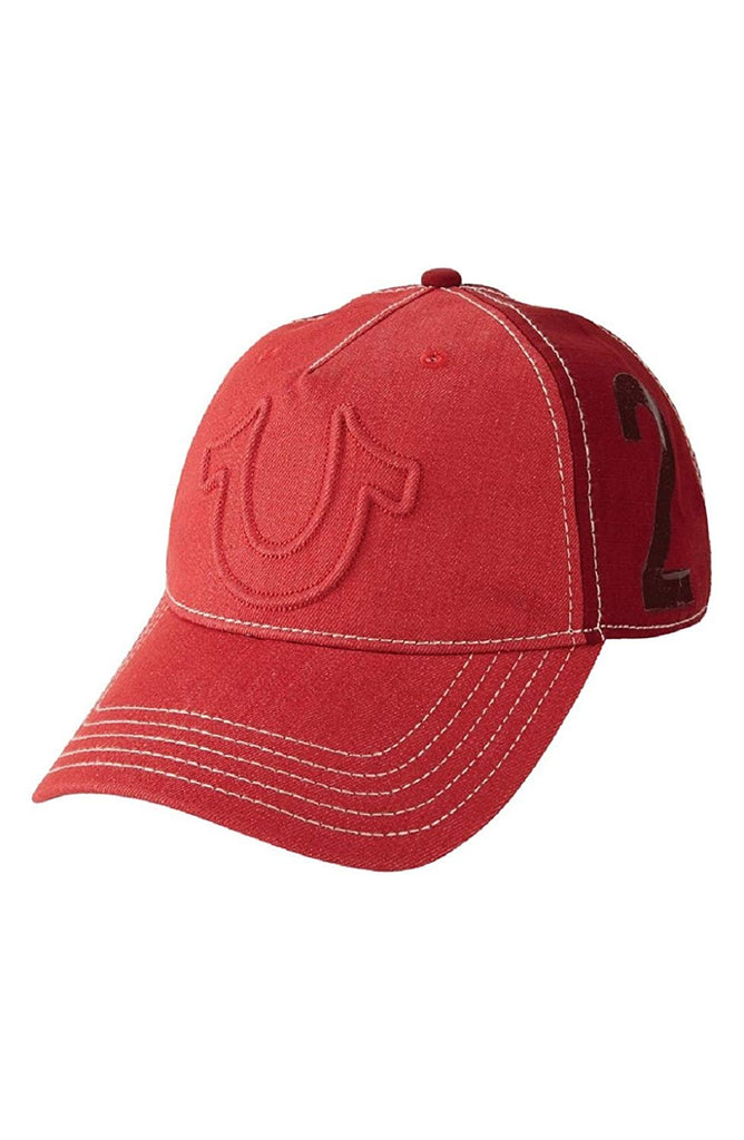 True Religion Raised Horseshoe Baseball Cap - TR2059