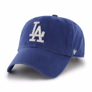 47 BRAND DODGERS ROYAL CLEAN UP STRAPBACK