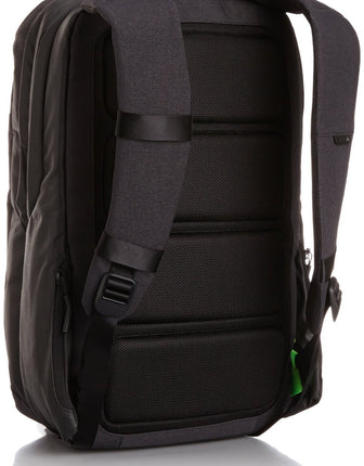 "City Carrying Case (Backpack) for 17"" Notebook, MacBook Pro, iPad, iPhone - Black"