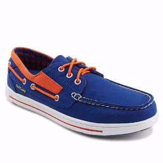 Eastland Men's Adventure MLB New York Mets Canvas Boat Shoe
