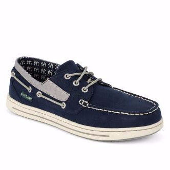 Eastland Men's Adventure MLB New York Yankees Canvas Boat Shoe
