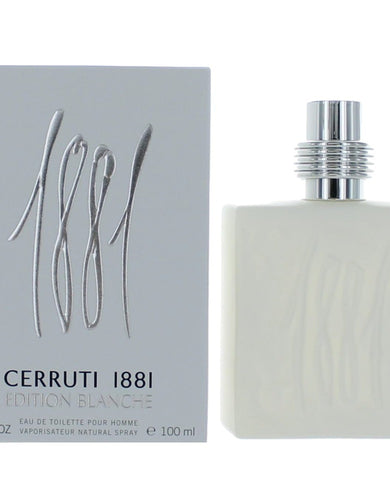 1881 Edition Blanche by Nino Cerruti, 3.4 oz Eau De Toilette Spray for Men