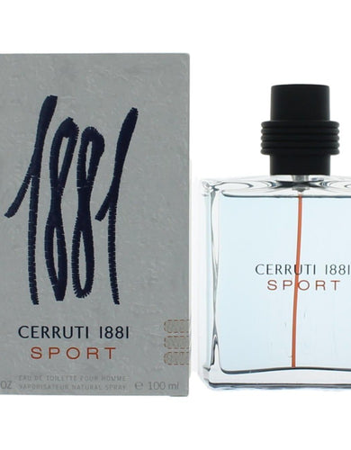 1881 Sport by Nino Cerruti, 3.4 oz Eau De Toilette Spray for Men