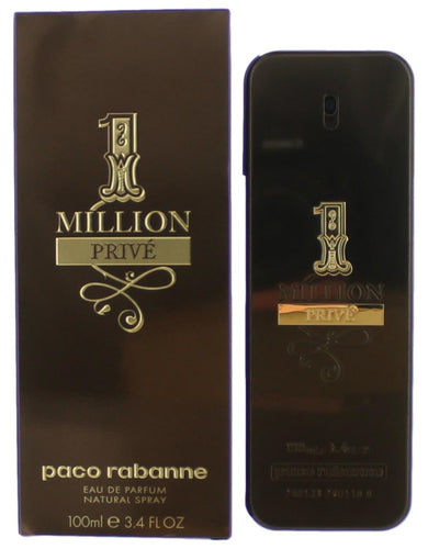 1 Million Prive by Paco Rabanne, 3.4 oz Eau De Parfum Spray for Men