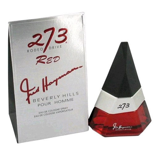 273 Red by Fred Hayman, 2.5 oz Eau De Cologne Spray for men.