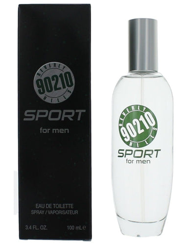 Beverly Hills 90210 Sport by Torand, 3.4 oz Eau De Toilette Spray for Men