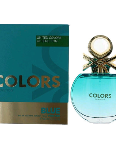 Colors De Benetton Blue by Benetton, 2.8 oz Eau De Toilette Spray for Women