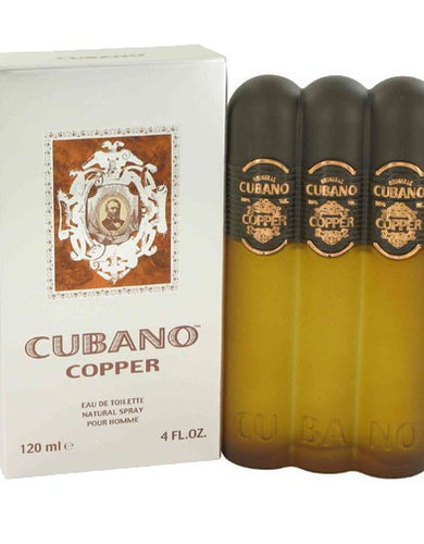 Cubano Copper By Cubano, 4 oz Eau De Toilette Spray for men