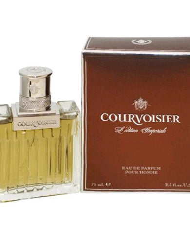 Courvoisier L'edition Imperiale by Courvoisier, 2.5 oz Eau De Parfum Spray for Men