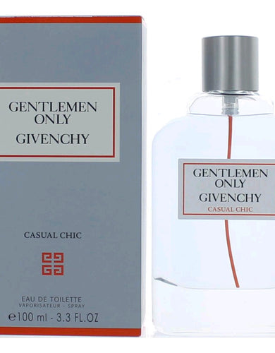 Gentlemen Only Casual Chic by Givenchy, 3.3 oz Eau De Toilette Spray for Men