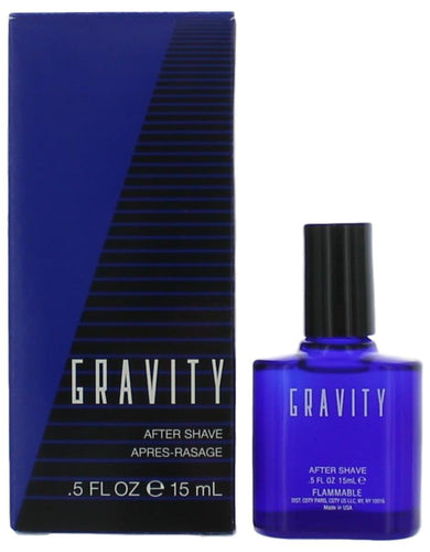 Gravity by Coty, .5 oz After Shave for Men