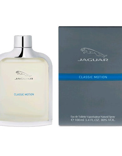 Jaguar Classic Motion by Jaguar, 3.4 oz Eau De Toilette Spray for Men