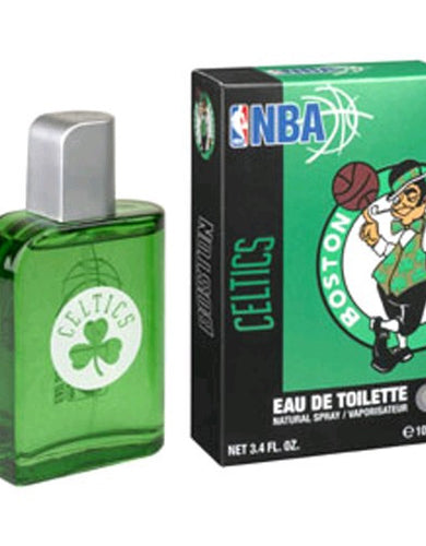 Boston Celtics by NBA, 3.4 oz Eau De Toilette Spray for Men Box