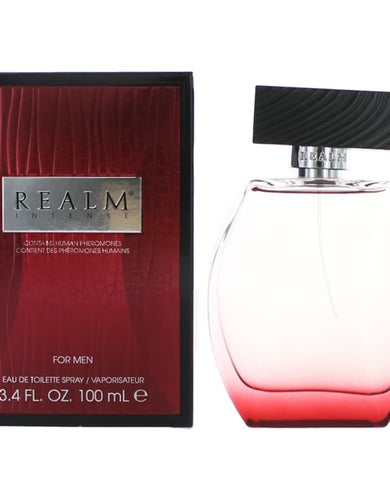 Realm Intense by Erox, 3.4 oz Eau De Toilette Spray for Men
