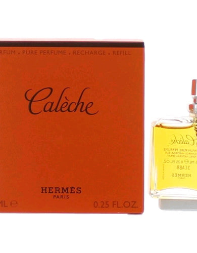 Caleche by Hermes, .25 oz Pure Parfum Refill Purse Spray for Women