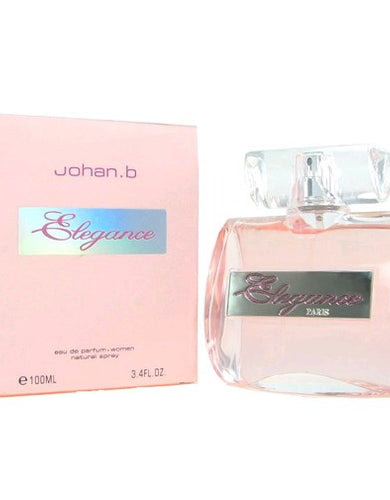Elegance by Johan B, 3.4 oz Eau De Parfum Spray for Women
