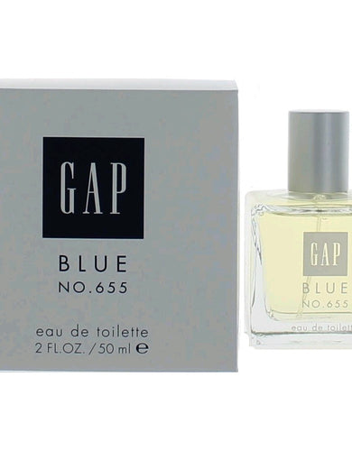 Gap Blue No. 655 by Gap, 2 oz Eau De Toilette Spray for Women