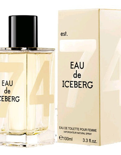 Eau De Iceberg by Iceberg, 3.3 oz Eau De Toilette Spray for women