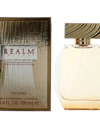 Realm Intense by Erox, 3.4 oz Eau De Parfum Spray for Women