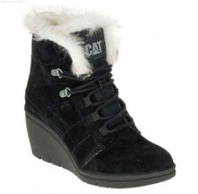 CAT Footwear- Women's Harper Fur Waterproof Wedge Boots