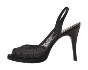 Adrianna Papell Women's Georgi Platform Dress Sandal- BLACK